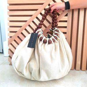 Charles & Keith Bead Handbag